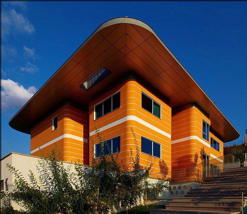Modern Architecture Color orange houseyazgan design architecture | orange house