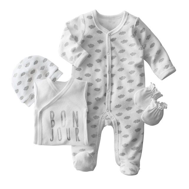 Ensemble bébé col rond 0 mois - 12 mois  bbb2b96e56e