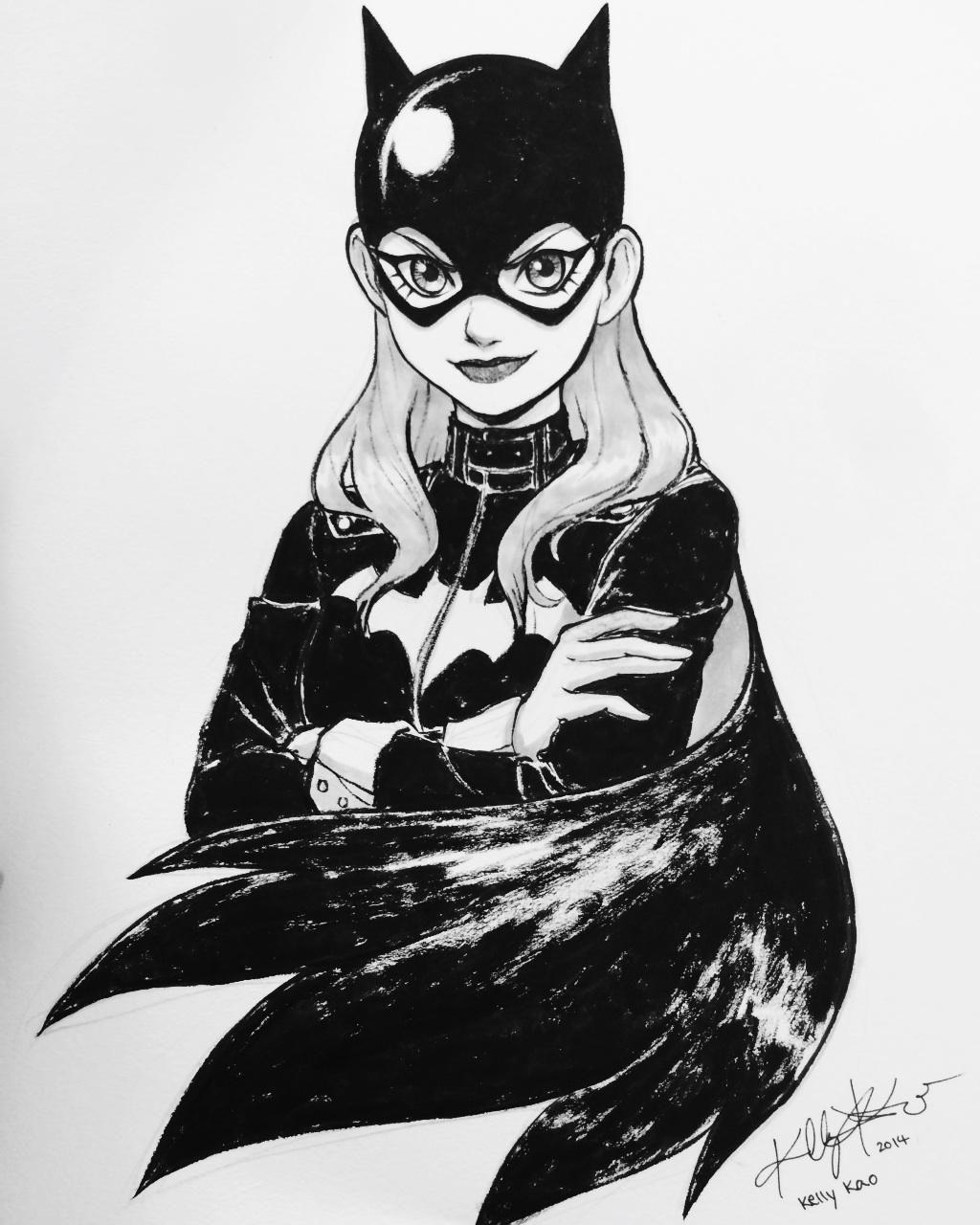 Batgirl by Kelly Kao *
