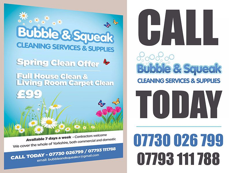 We are a specialist cleaning company that offer great service - spreadsheet for cleaning business