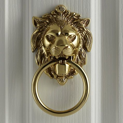 Merveilleux Buy John Lewis Lionu0027s Head Door Knocker, L14 X W10.5cm Online At  Johnlewis.com