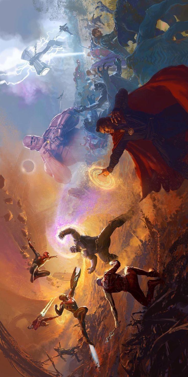 Avenger vs thanos - marvelpearl