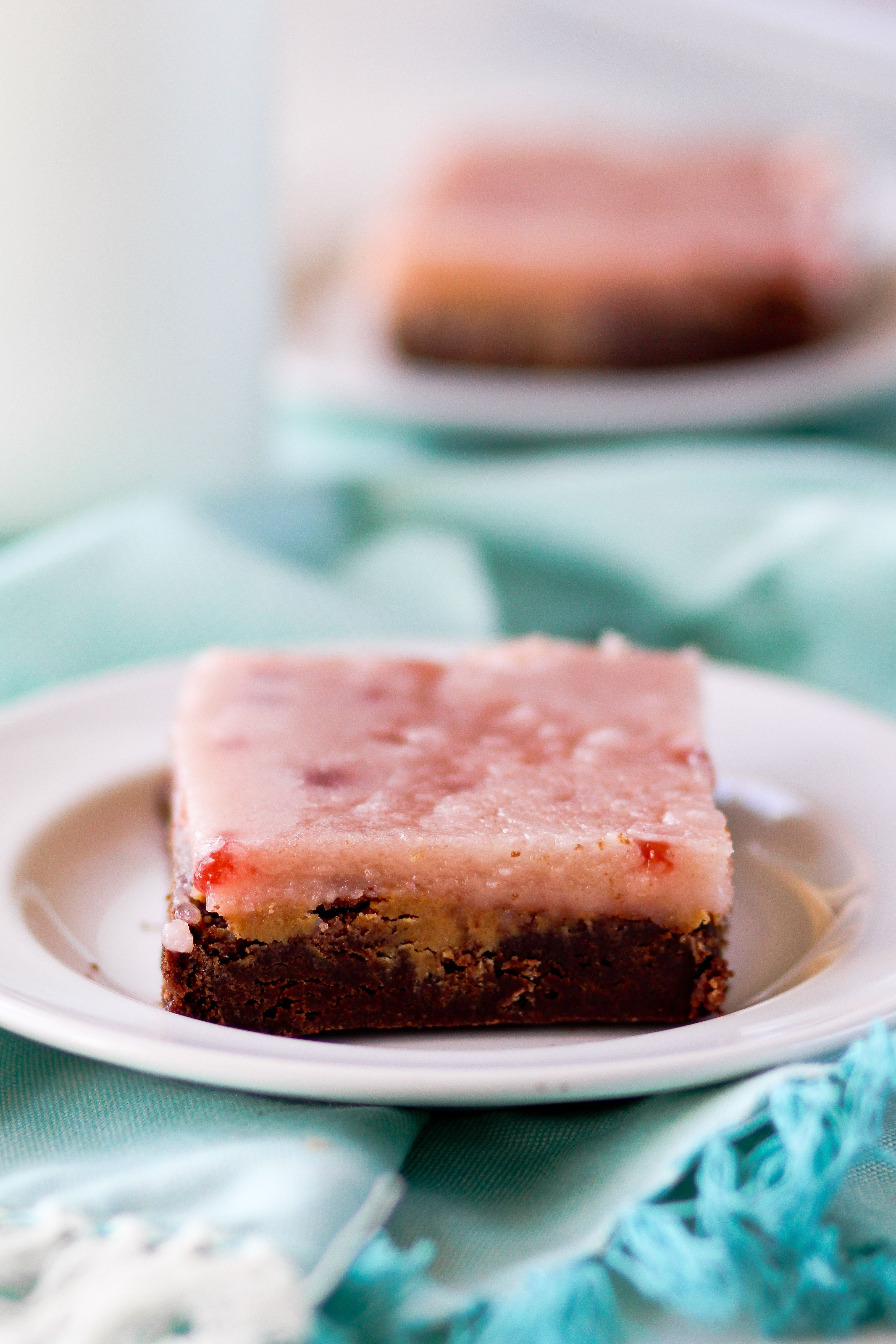 Peanut Butter and Jelly Brownies - Confessions of a Cookbook Queen