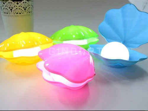 Rechargeable Shell Night Light