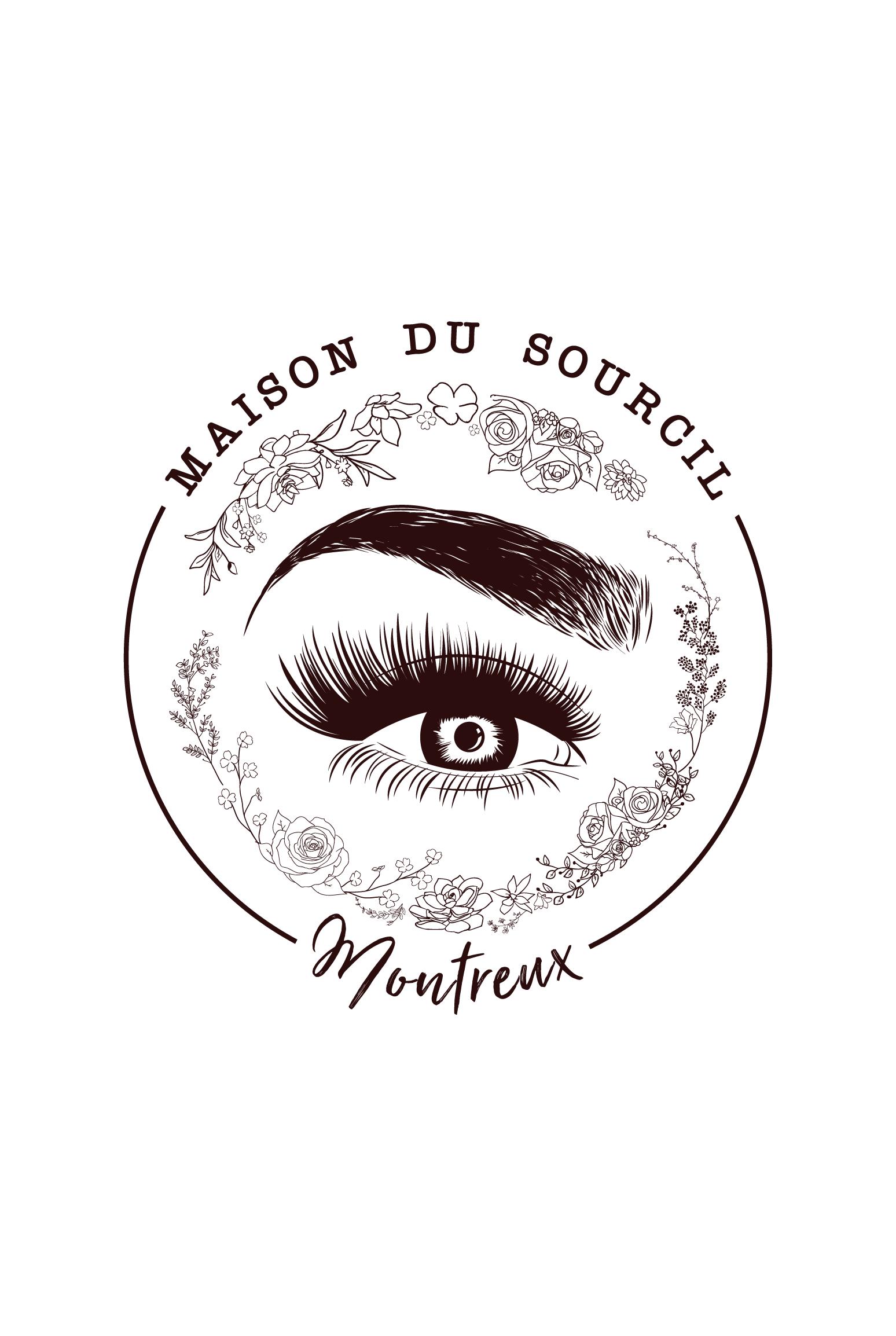 Logo for maison du sourcil in montreux switzerland maison du sourcil is a new salon opening - Maison du design ...