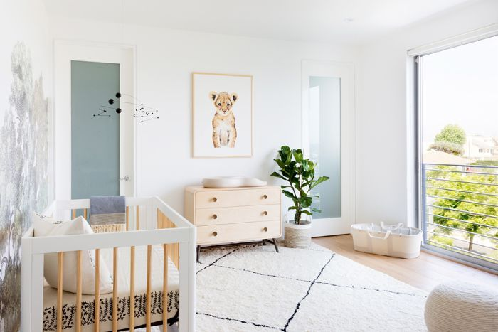See How A Designer Created Cozy But Sophisticated Nursery In Contemporary Mar Vista Home
