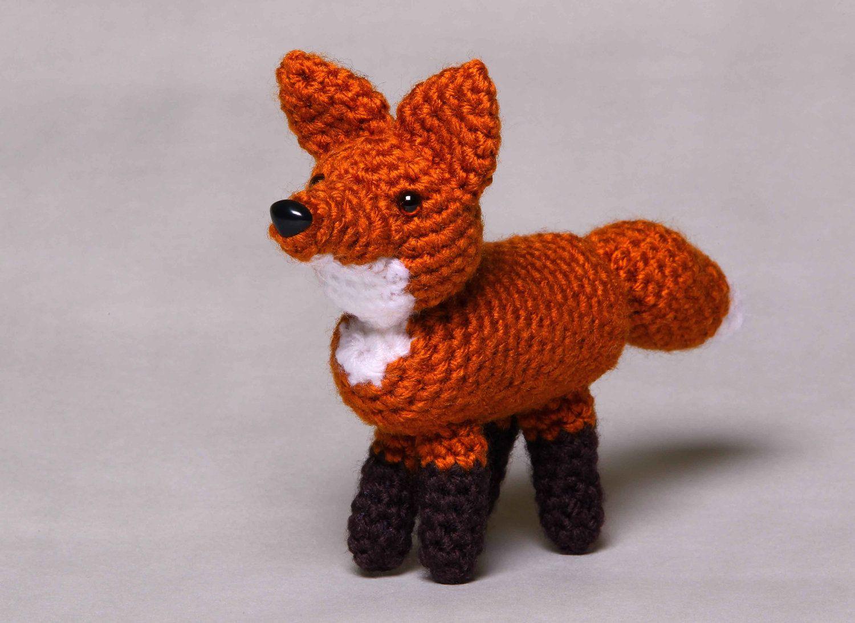 Fox by HoneyBunnyShoppe on Etsy