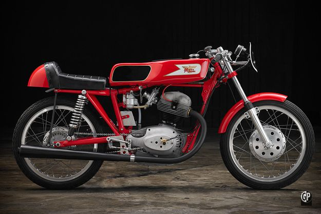 Moto Morini Settebello Motorcykel Bla