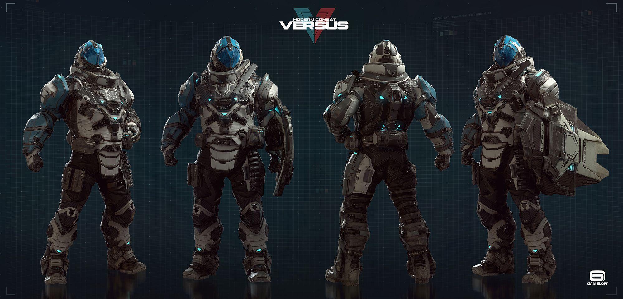 Modern Combat Versus Character Team Art Dump Zbrushcentral In 2020 Combat Art Character Art Character