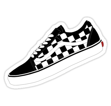 Pin By Alicia On Stickers Black And White Stickers Preppy Stickers Vans