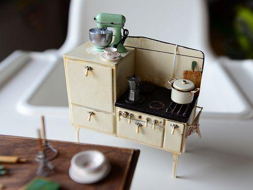 Dollshouse Miniatura ~ Metal ~ recogedor