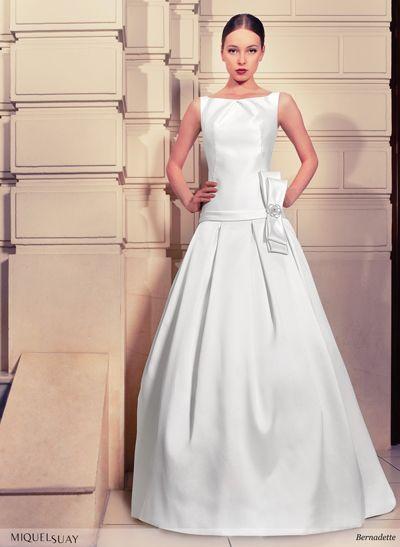 vestido de novia de miquel suay para eva novias evanovias