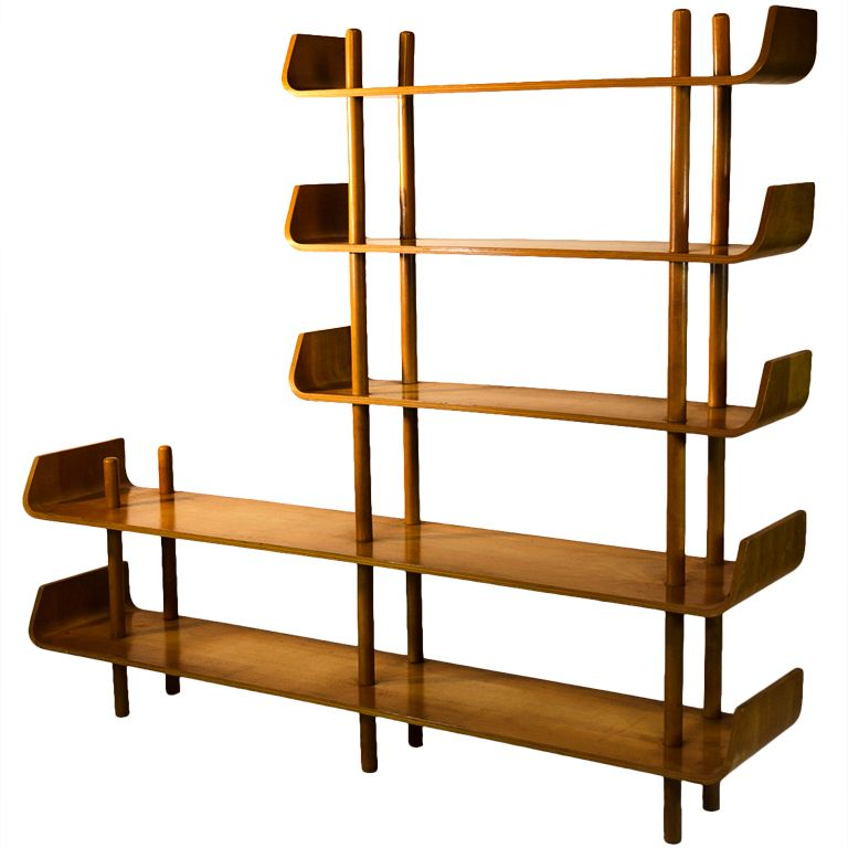 Pin By Paul B On Shelves Plywood Bookcase Bookcase Shelves