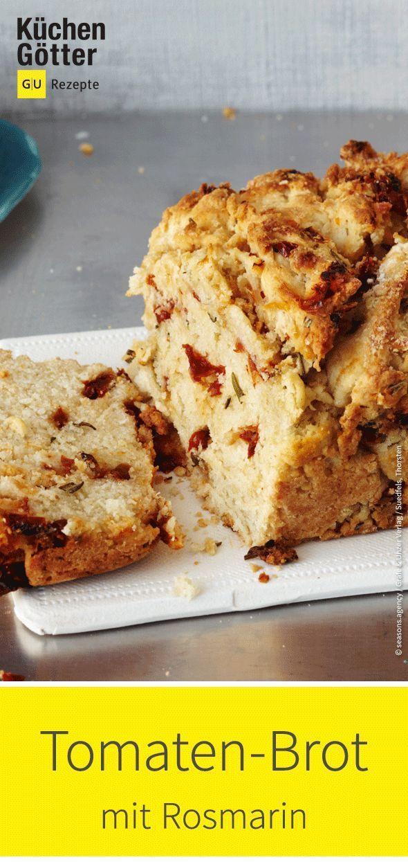 Pane vegano al pomodoro e rosmarino