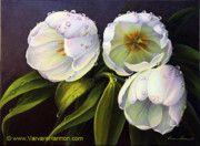 Varvara Harmon - Tulipanes blancos