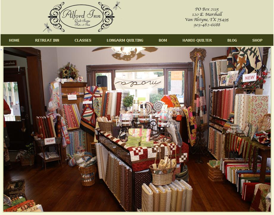 Alford Inn Quilt Shoppe & Retreat - Looking for a wonderful ... : dallas quilt shops - Adamdwight.com