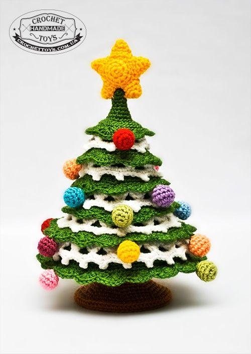 Weihnachtsbaum häkeln … | Pinteres…
