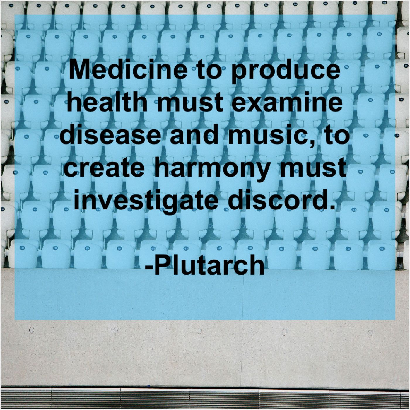 Plutarch Medicine to produce health must Phylicia rashad
