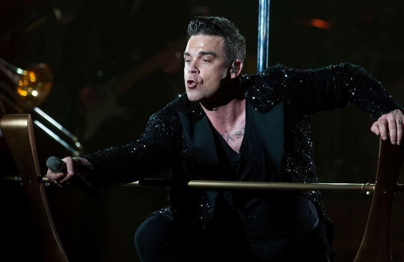 """Take the crown tour 2013"" di Robbie Williams  Milano 31/07/2013"
