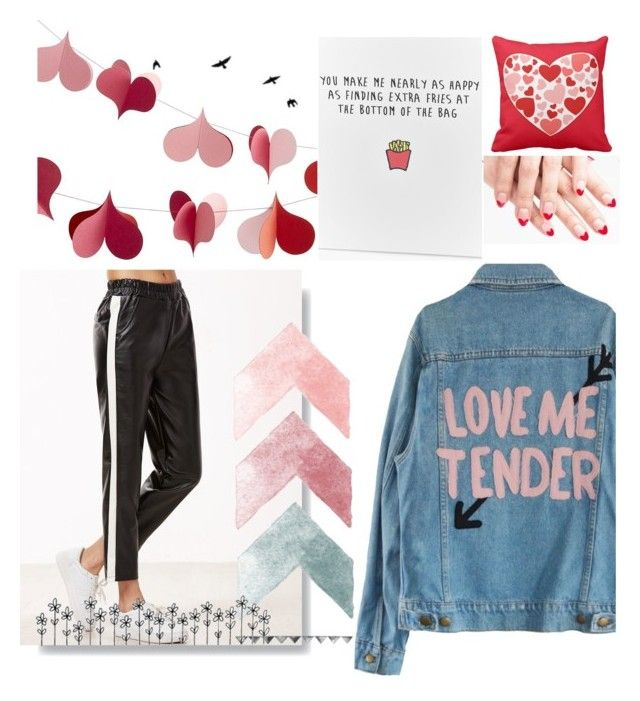 """""""Love"""" by barbara-lancianese on Polyvore featuring Crate and Barrel and Boohoo"""