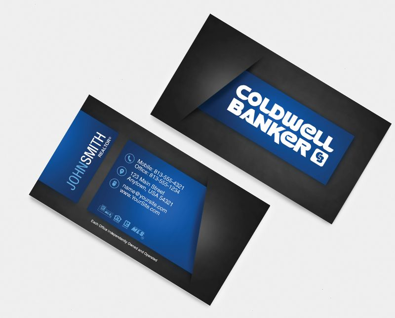 Coldwell Banker Business Card Design For 2015 Realtor Business Cards Printing Business Cards Keller Williams Business Cards
