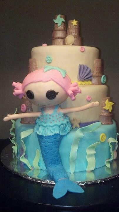 Lalaloopsy cake by Frosted Tops.