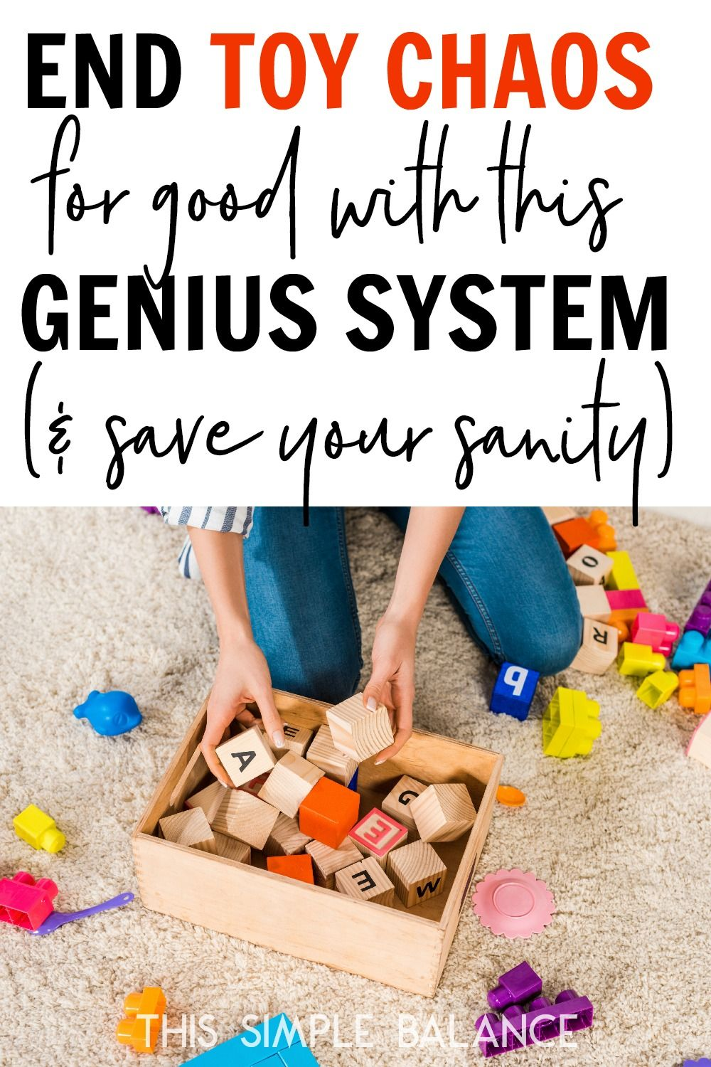 The Toy Checkout System Perfect For Big Families Cleaning Hacks