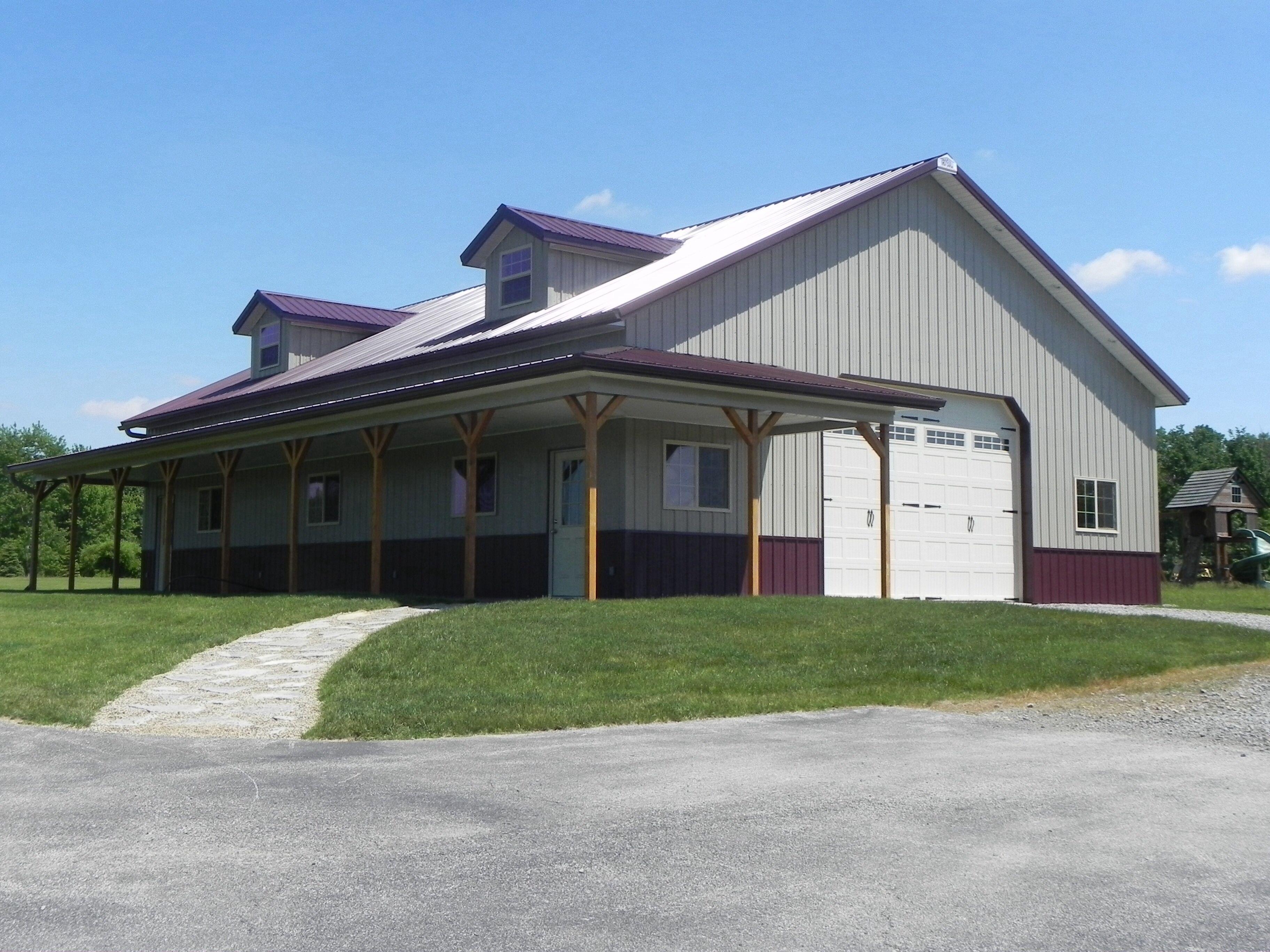 40x56 pole barn Pole barn homes, Metal buildings, Custom
