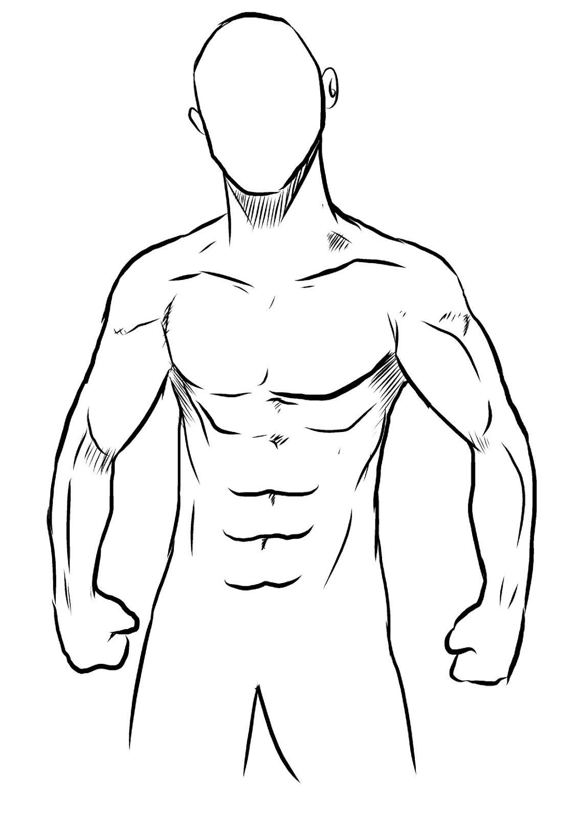 espalda musculosa dibujo - Buscar con Google | Diagramas | Pinterest ...
