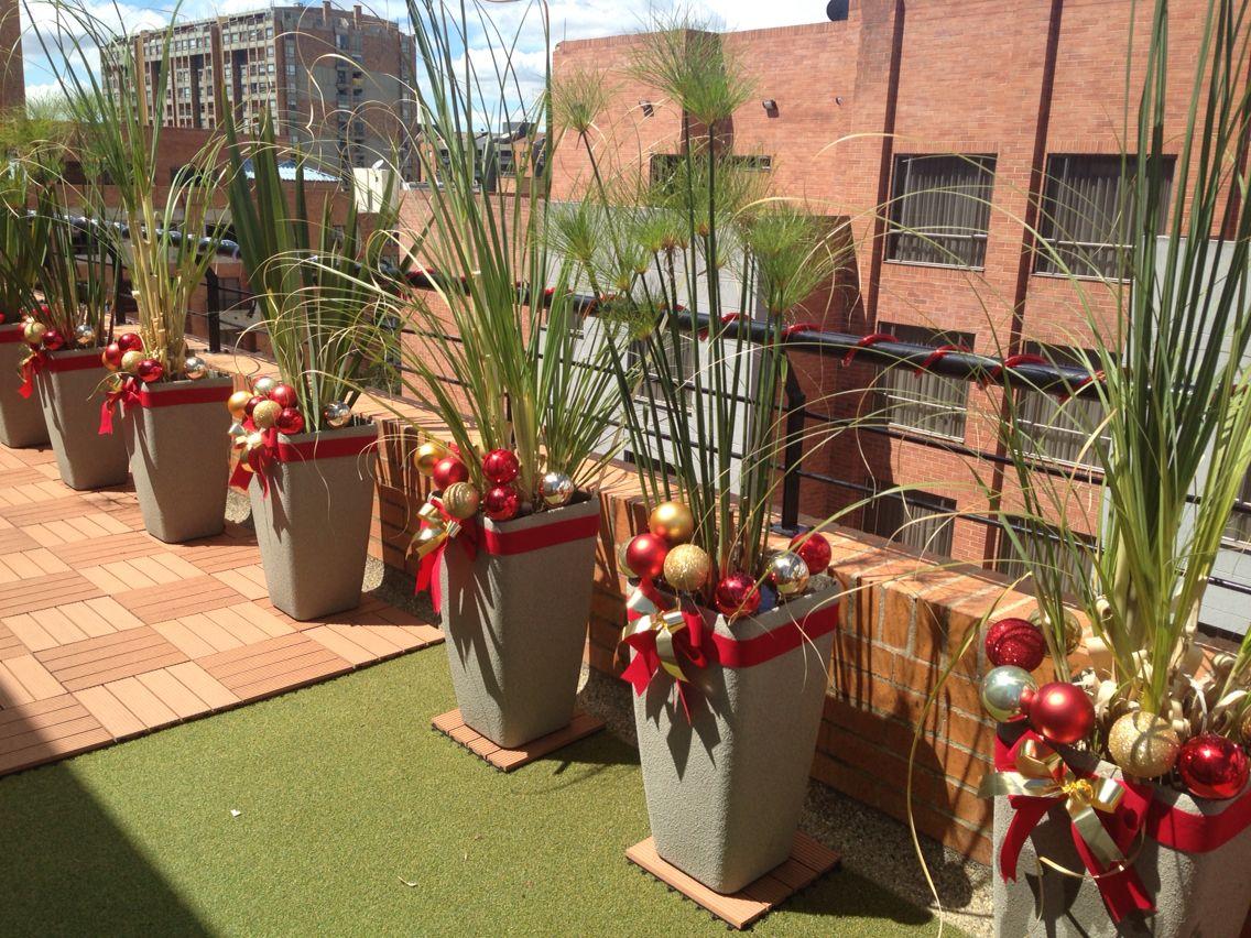 Ideas Navideñas Para Decorar La Terraza El Jardín O El