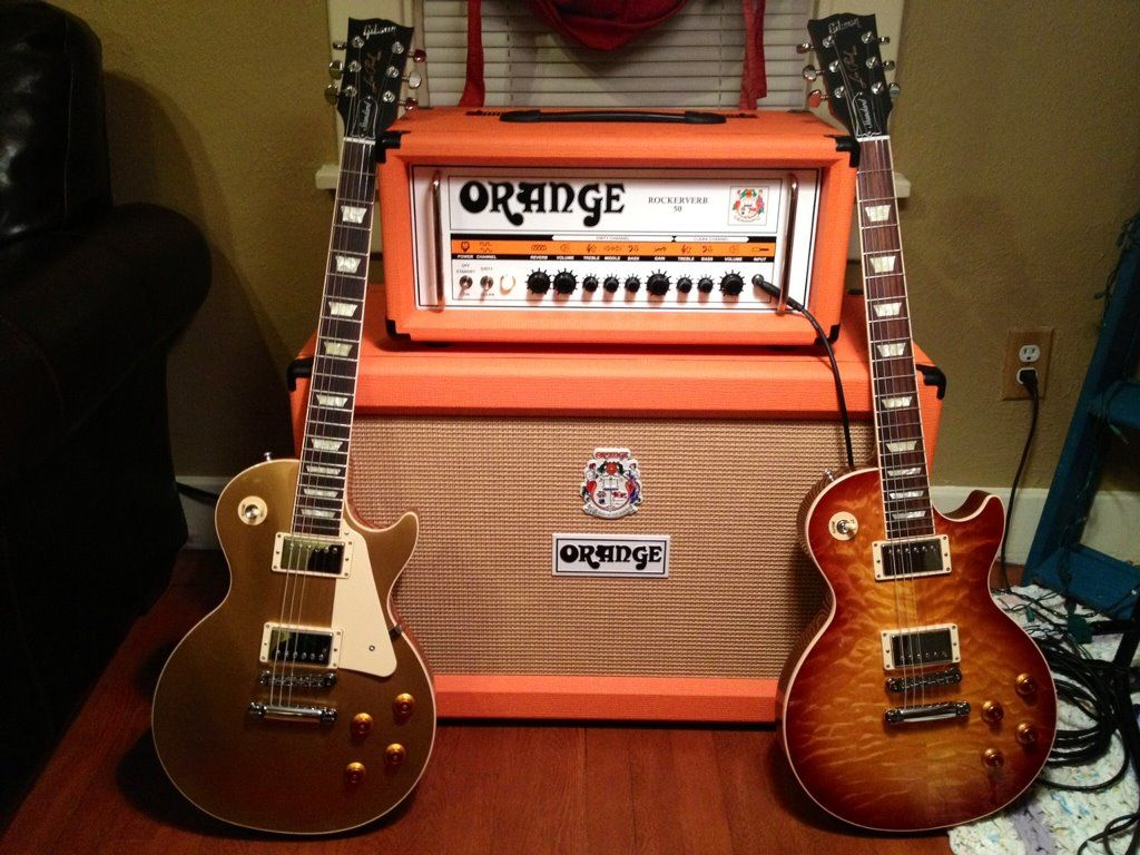 Music Wallpaper: Orange Amplifier | Guitars | Pinterest
