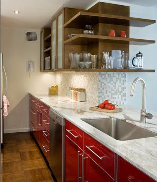 Decoración de Cocinas Pequeñas y Sencillas3   diseños de casas ...