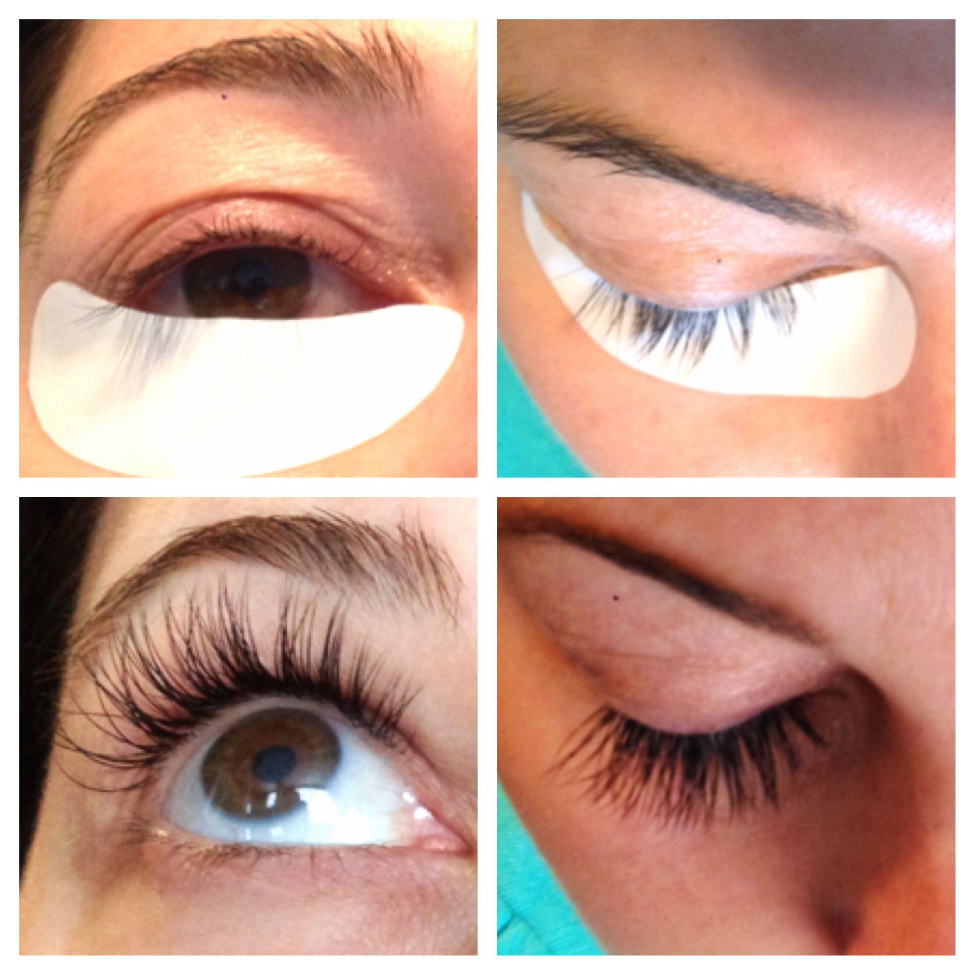 Full Set Xtreme Eyelash Extensions I Used A Longer Lash For The