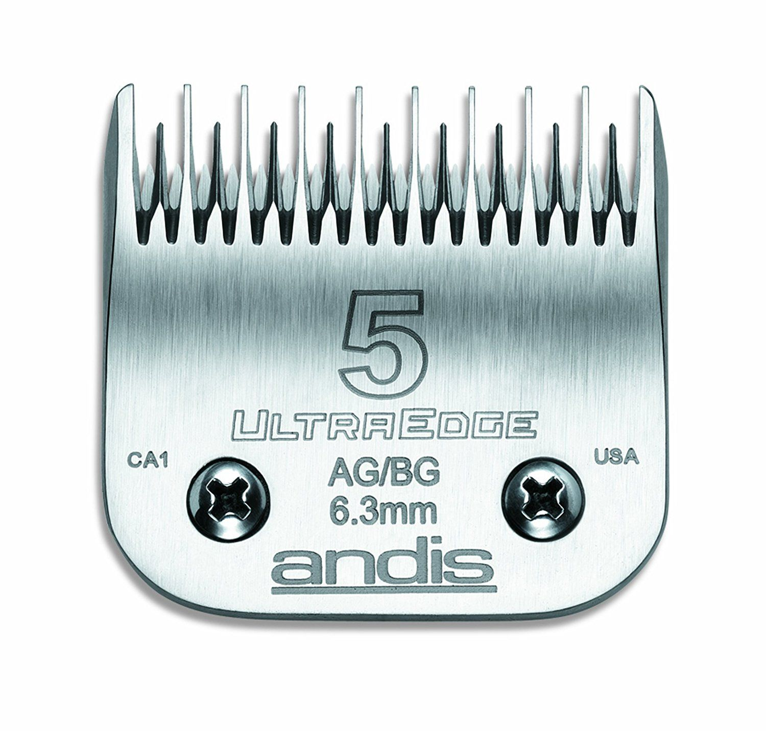 Andis Ultraedge Hair Clipper Blade Size 5 Skip Tooth 64079
