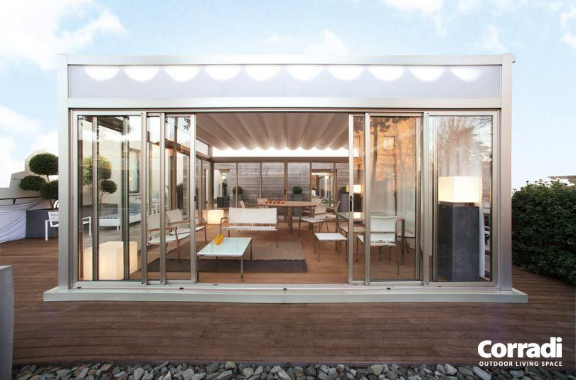 Corradi Pergotenda Convertible Roof Outdoor Structures Outdoor Structures Roofing Gallery Furniture