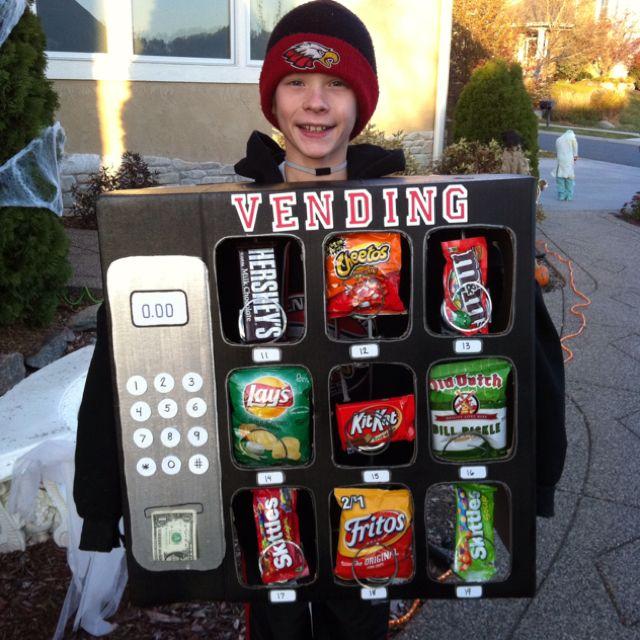 vending machine costume leslie s crafts pinterest halloween