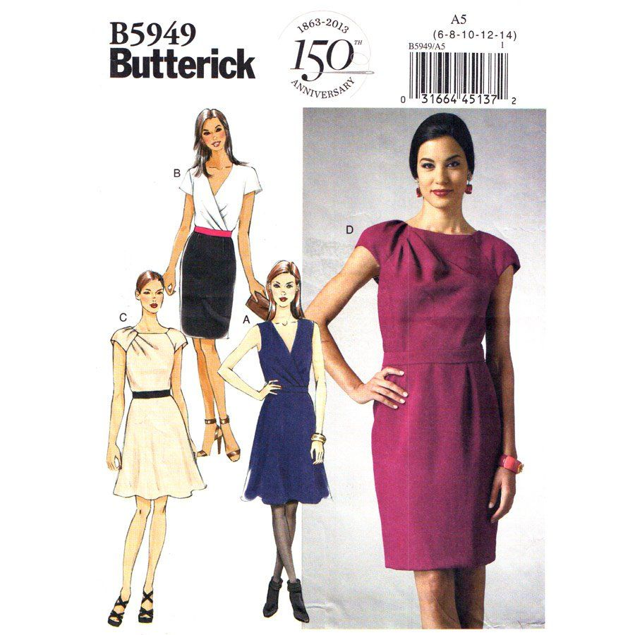 Butterick 5949 - Google Search | Sewing | Pinterest