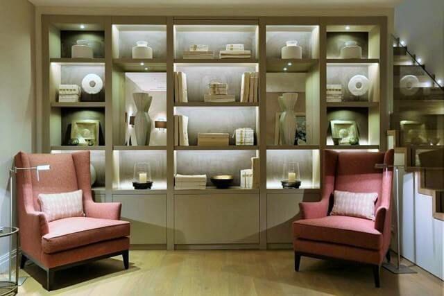 Home Decor With Shelf Light Ideas For You Bookcase Lighting Bookshelf Lighting Living Room Lighting