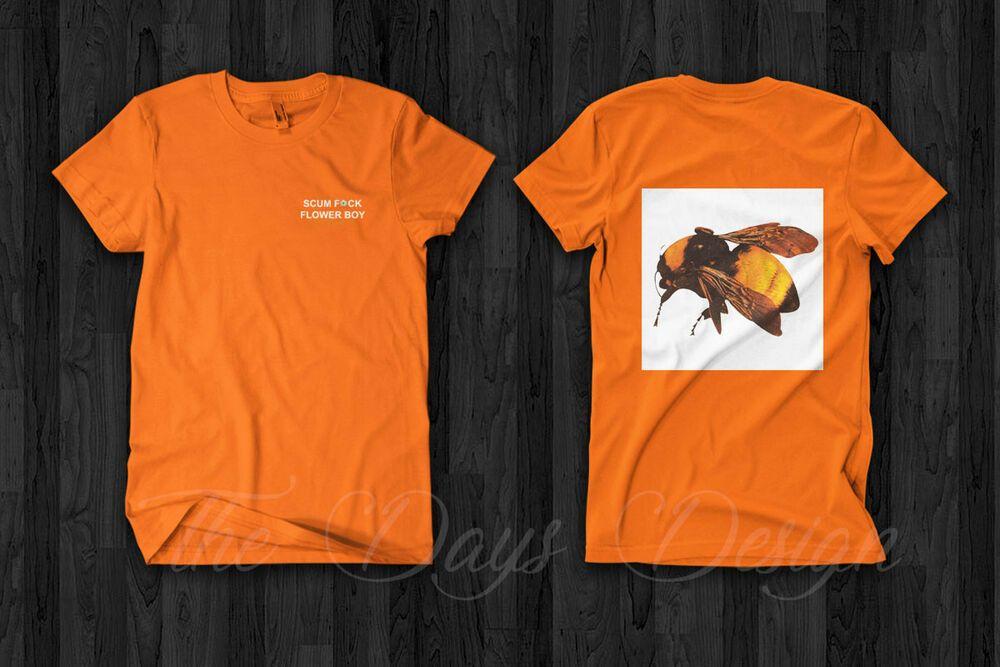 Golf Wang Tyler The Creator Scum Fck Flower Boy T Shirt