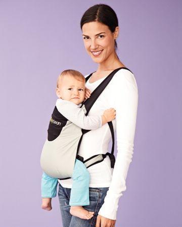 Bitybean Baby Carrier That Rolls Up And Packs Down To The Size Of