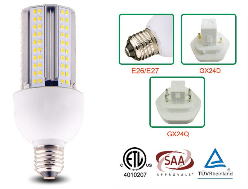 Etl Saa Tuv Certified 15w Led Corn Light Bulbs Street Lamp Light Bulbs Bulb