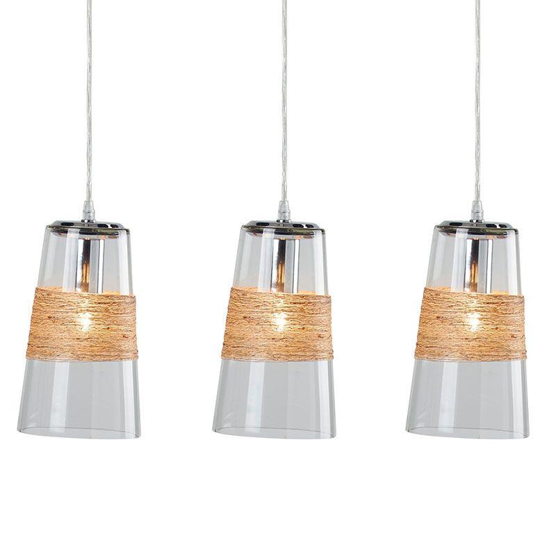 suspension triple celestine luminaires suspension cocktail scandinave plafonnier et abat. Black Bedroom Furniture Sets. Home Design Ideas