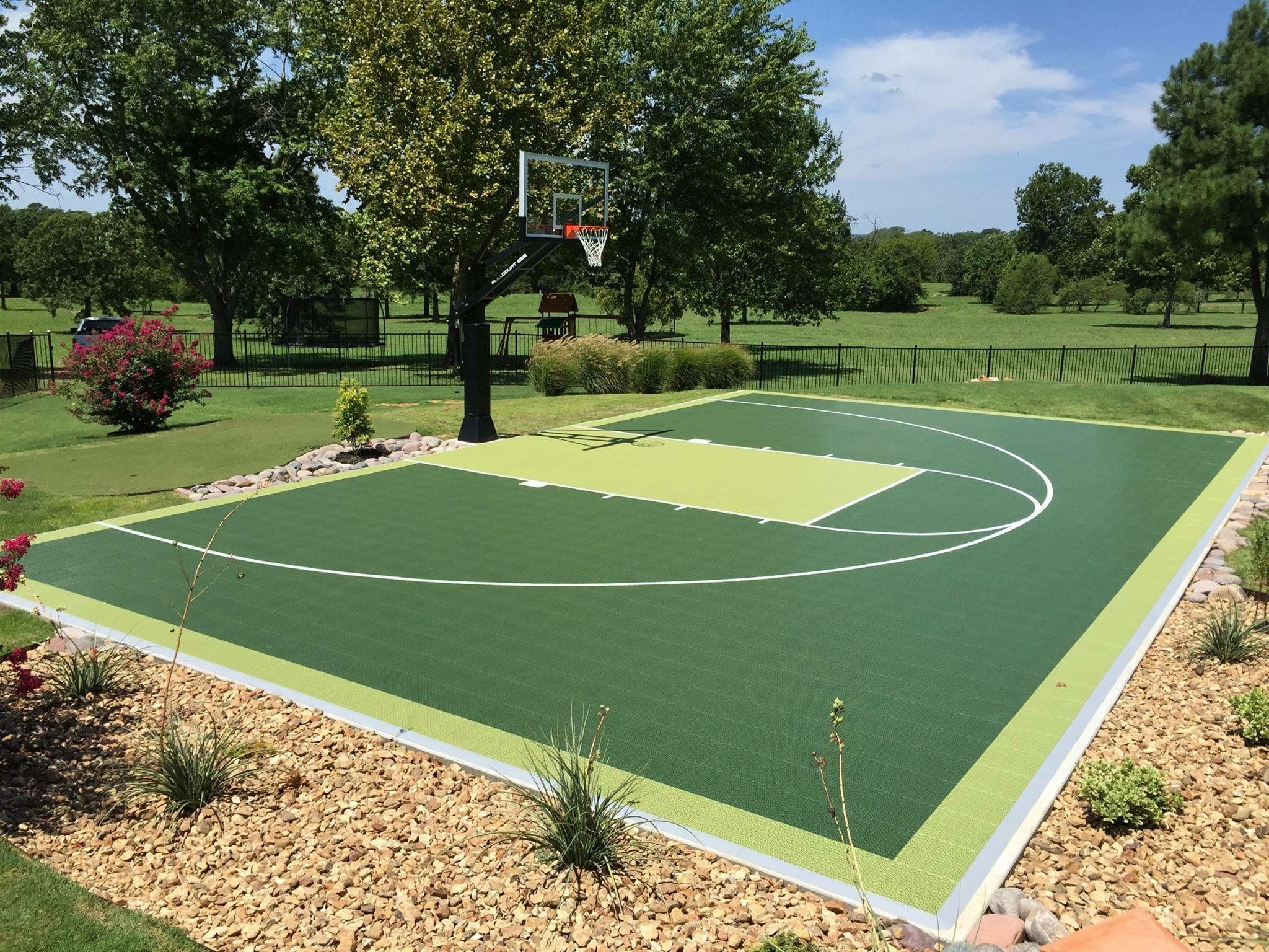 basketballcourt for your backyard snapsports for every court