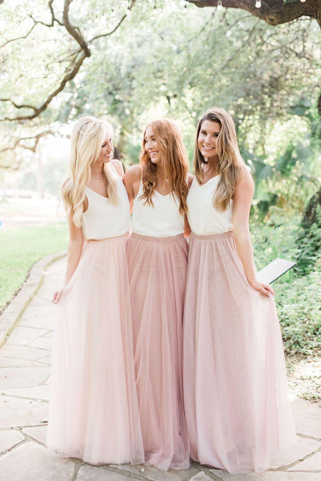 Heidi Chiffon Top Different Bridesmaid Dresses Casual Bridesmaid Dresses Unique Bridesmaid Dresses
