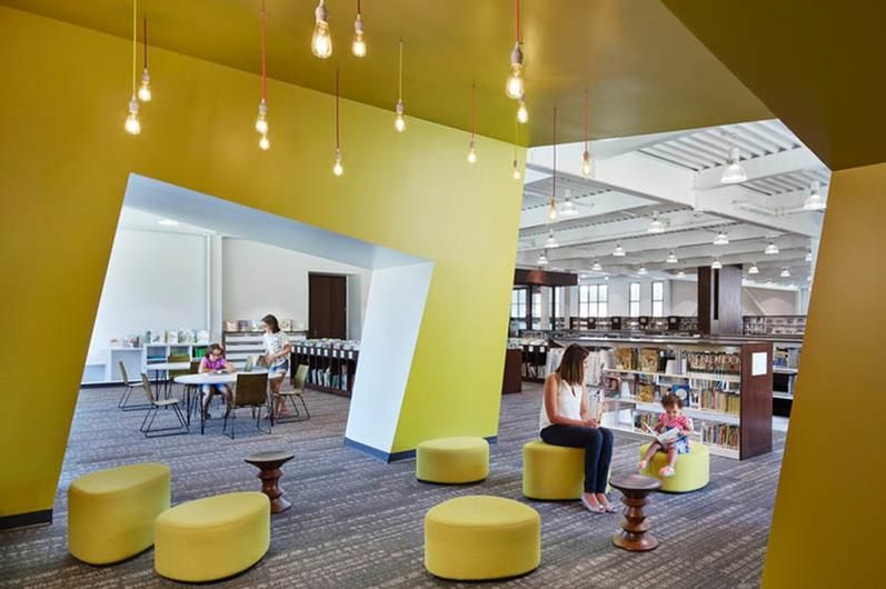 2018 Library Interior Design Award Winners Image Galleries Ala