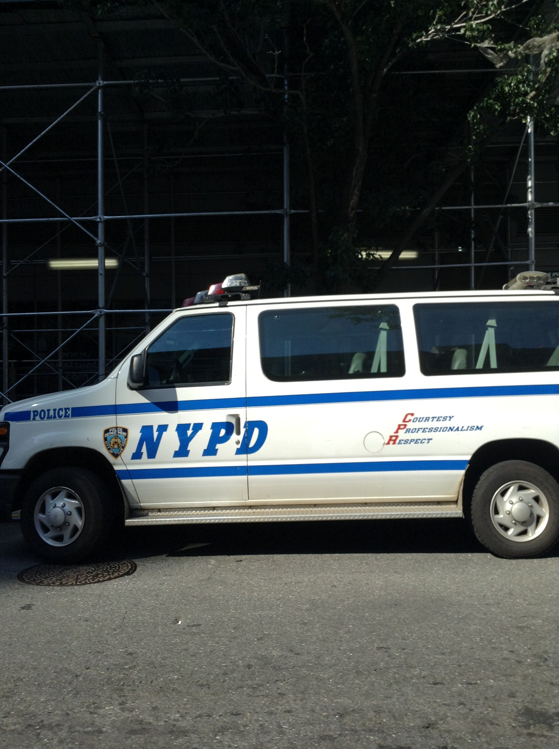 NYPD first vehicle I rode in when I got on da job