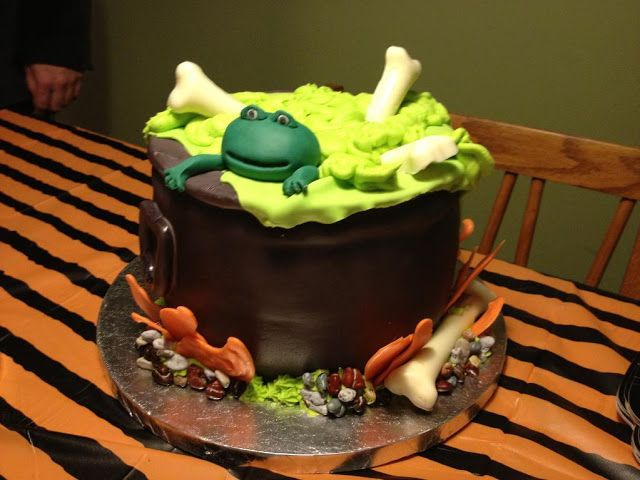 Free halloween cauldron cake images for facebook,whatsapp,instagram - halloween decorated cakes