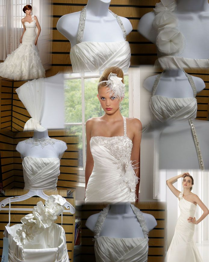 adding straps to a strapless gown | Wedding | Pinterest | Strapless gown