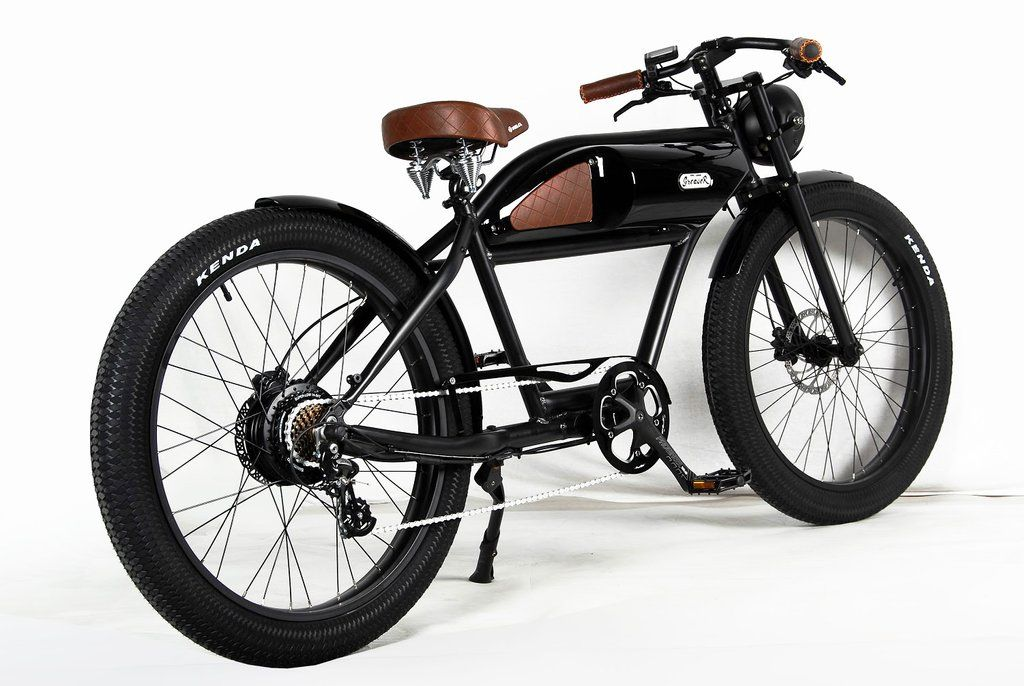 T4b Greaser 350w Electric Bike Cafe Racer 36v13ah Electric