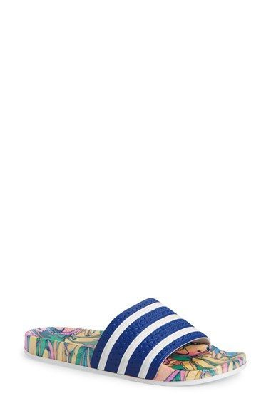 ade3c4f8498b adidas  Adilette - Supercloud Plus  Print Slide Sandal (Women ...